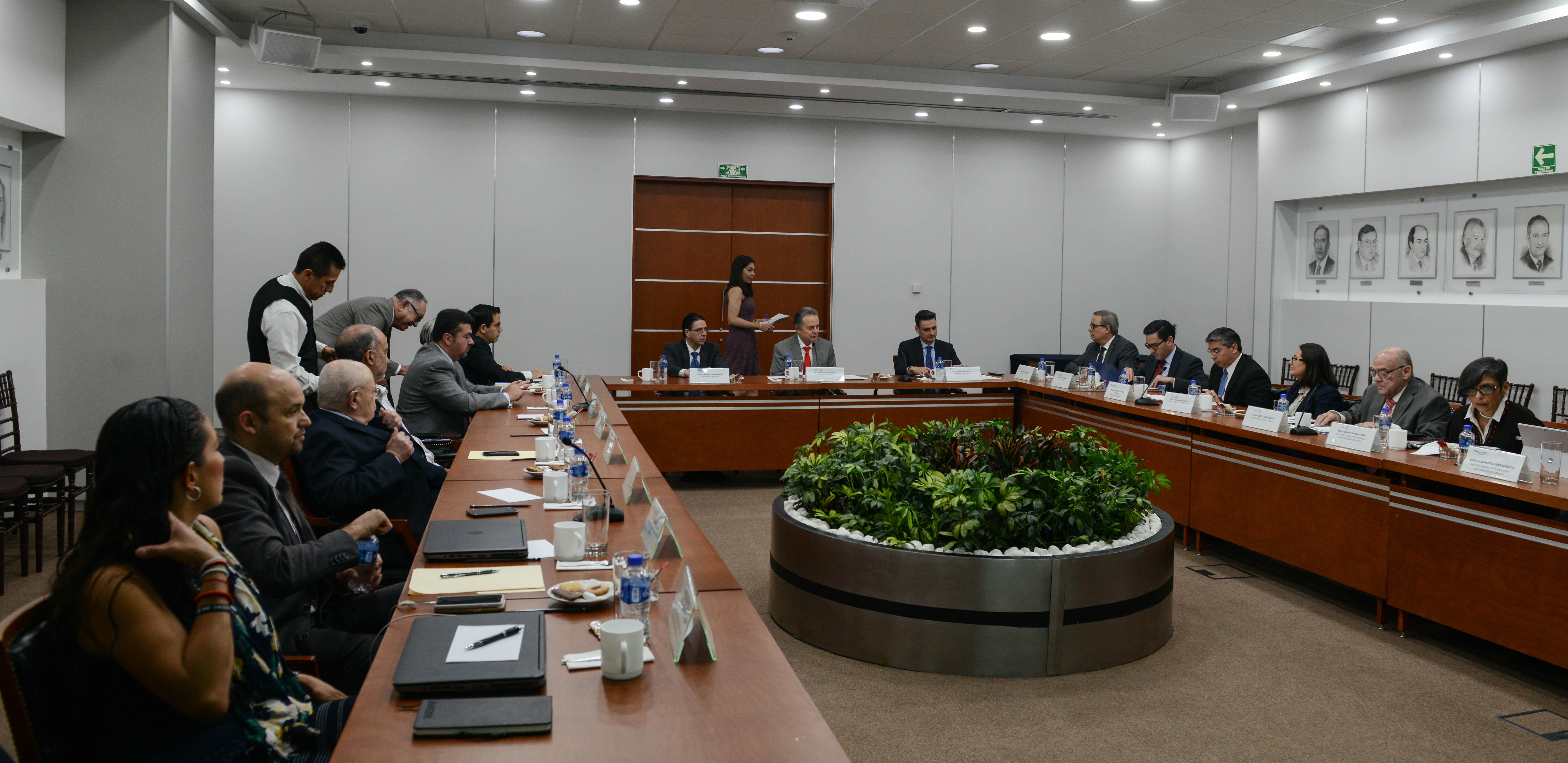 Sesión del Consejo Coordinador del Sector Energético