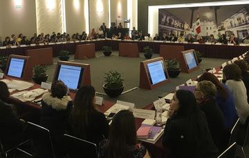 XXXV Sesión Ordinaria del Sistema Nacional de Prevención, Atención, Sanción y Erradicación de la Violencia contra las Mujeres
