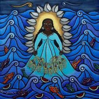 Deidades mitológicas del agua.