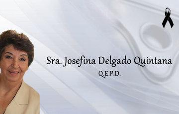 Sra. Josefina Delgado Quintana