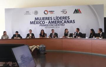 PRIMER ENCUENTRO DE MUJERES LÍDERES MEXICO-AMERICANAS