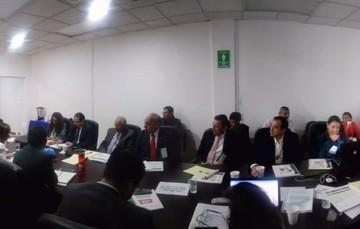 Sesión con el grupo revisor experto de la OPS/OMS sobre las actividades de prevención y control de la Rabia.