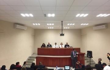 Inauguración del curso, encabezado por el Director de Epidemiología y Medicina Preventiva de la Ciudad de México