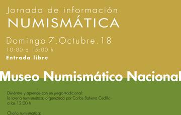 Jornada de información numismática del mes de octubre