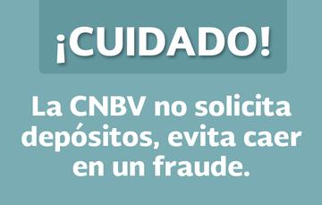 CNBV alerta sobre correo falso solicitando depósitos