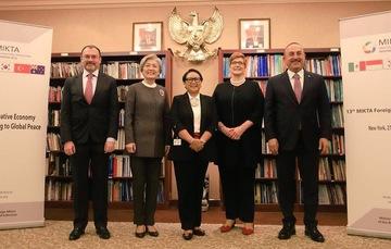 Declaración Conjunta de los Ministros de Relaciones Exteriores de MIKTA en su quinto aniversario