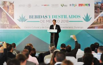 Bebidas y destilados de México 2018