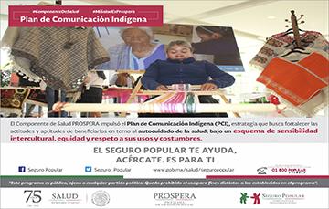 Plan de Comunicación Indígena, esquema de sensibilidad intercultural, equidad y respeto a sus usos y costumbres.