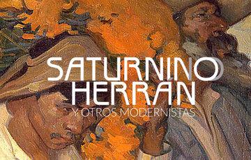 Banner de la exposición Saturnino Herrán y otros modernistas