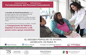 El Auxiliar de Salud Comunitaria tiene la responsabilidad de promover y cuidar la salud de las personas.