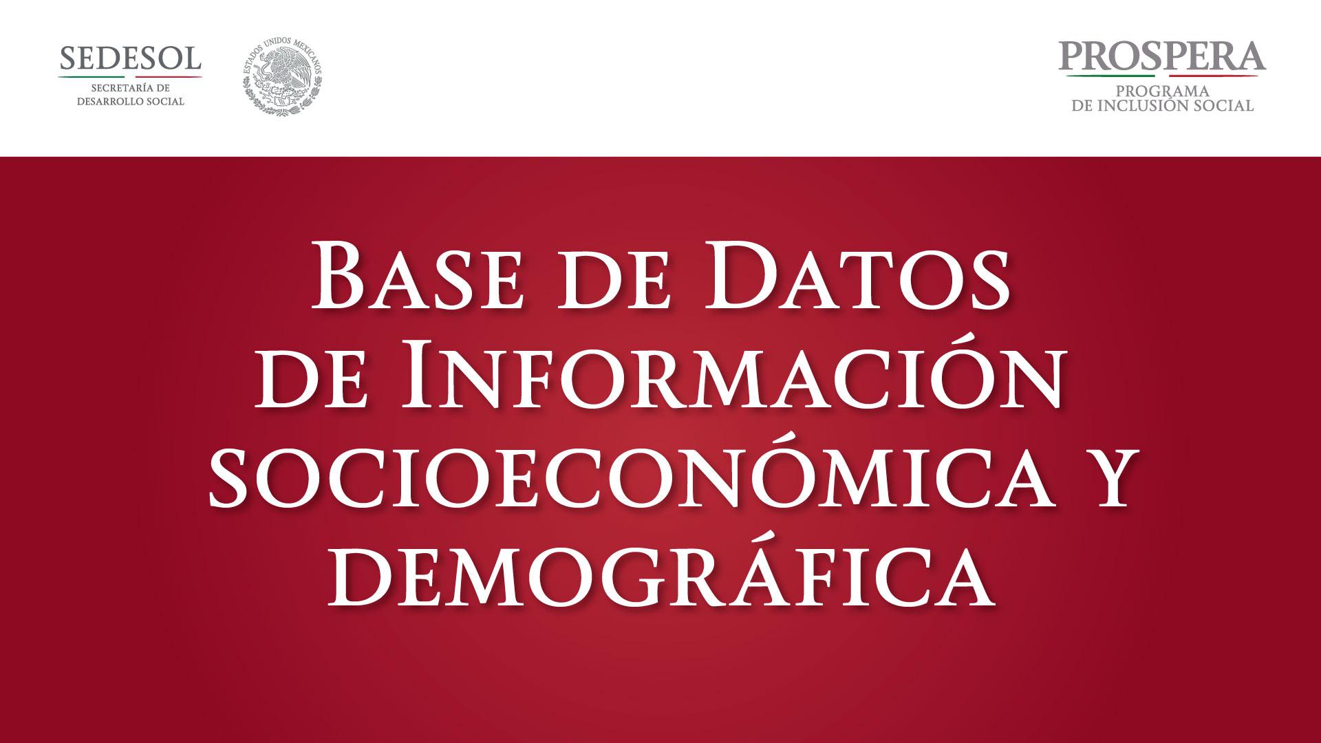 Infografía sobre la base de datos
