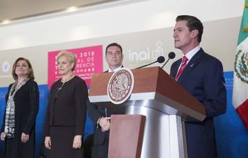 """""""México habrá logrado consolidar una cultura de la transparencia cuando cada ciudadano vea como algo normal y rutinario el tener acceso a toda la información pública gubernamental"""": EPN"""