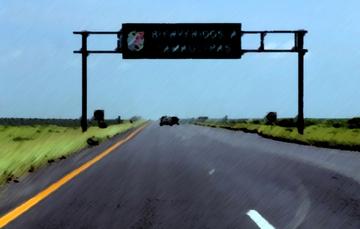 Carretera en Tamaulipas