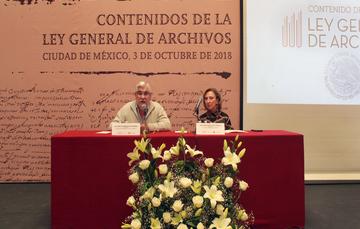 """Conferencia """"Contenidos de la Ley General de Archivos"""""""