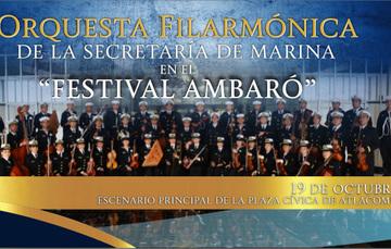 Orquesta Filarmónica de la Secretaría de Marina en el Festival Ambaró