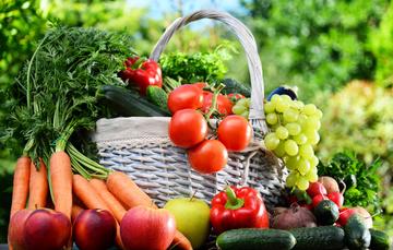 Canasta de hortalizas