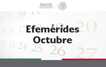 Efemérides Octubre 2018.
