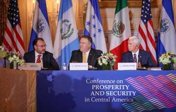 Participa el Canciller Luis Videgaray en la Segunda Conferencia sobre Prosperidad y Seguridad en Centroamérica