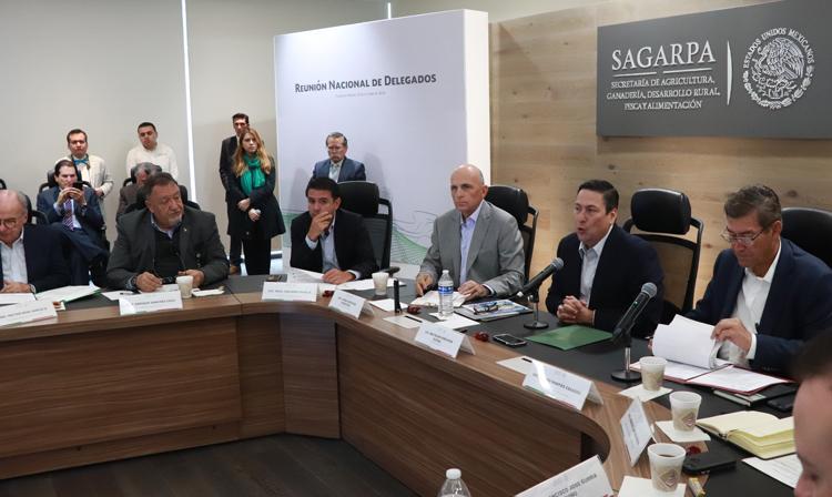 Reunión Nacional de Delegados de la SAGARPA