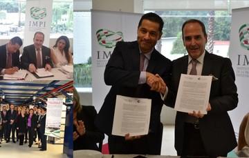 IMPI y el Colegio Nacional de Correduría Pública Mexicana unen esfuerzos para fomentar el uso del Sistema de Propiedad Industrial