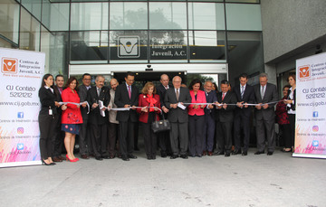 El secretario de Salud inauguró las nuevas oficinas de CIJ