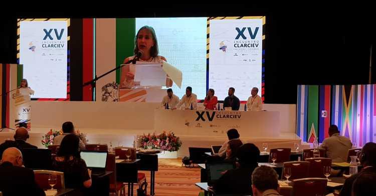 Reunión del CLARCIEV en Cartagena, Colombia