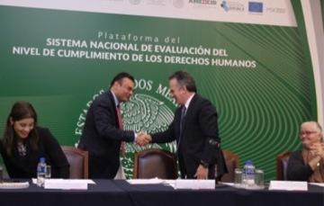 Sistema Nacional de Evaluación del Nivel de Cumplimiento de los Derechos Humanos.