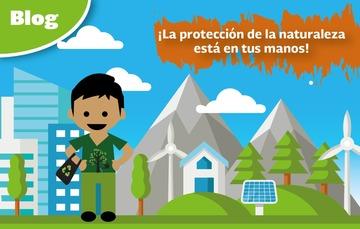 ¡La protección de la naturaleza está en tus manos!