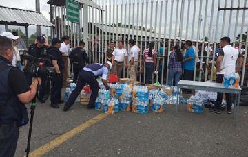 Ayuda humanitaria en la frontera sur del País