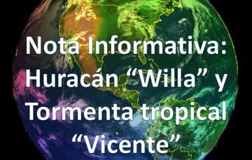 """HURACÁN """"WILLA"""" categoría 5"""
