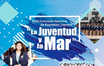 """GANADORES DEL XVIII CONCURSO NACIONAL DE EXPRESIÓN LITERARIA """"LA JUVENTUD Y LA MAR"""" 2018,"""