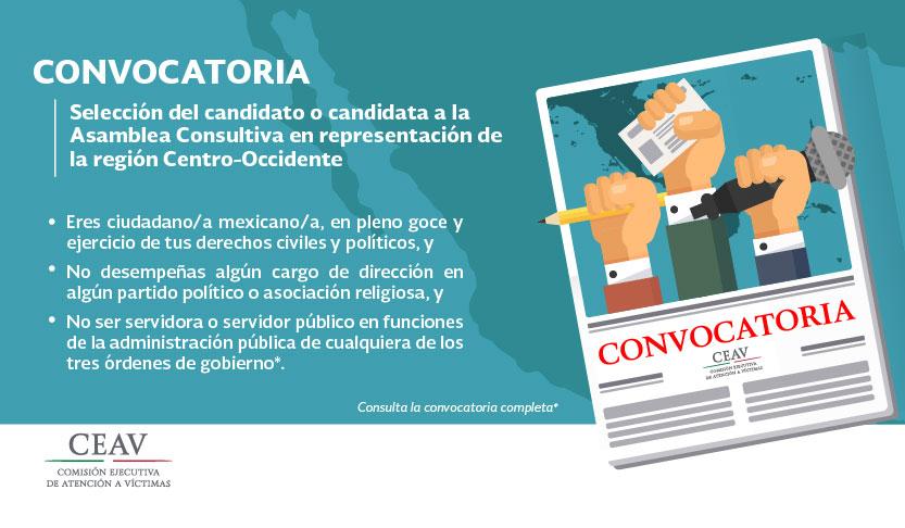 Convocatoria para la selección del candidato o candidata a la Asamblea Consultiva