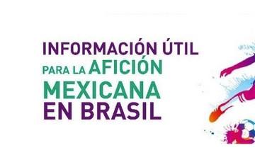 Información útil para la afición mexicana en Brasil