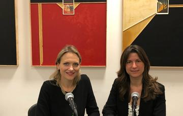 Mtra. Zara Snapp y Dra. Natalia Saltalamacchia