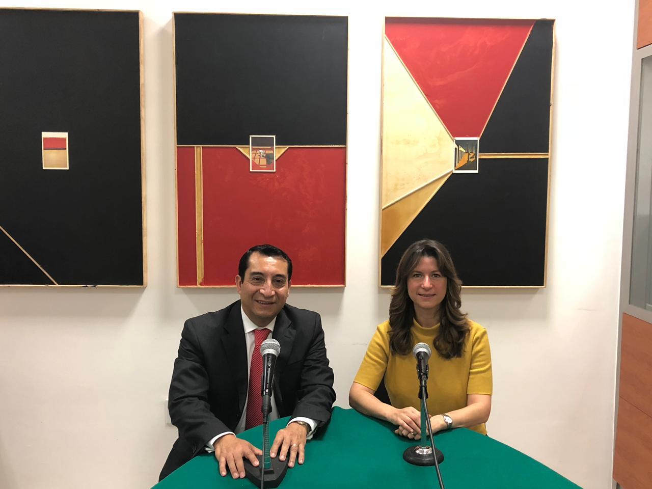 Min. Julián Juárez Cadenas y Dra. Natalia Saltalamacchia