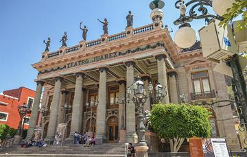 Considerado como uno de los edificios más representativos e icónicos del estado de Guanajuato