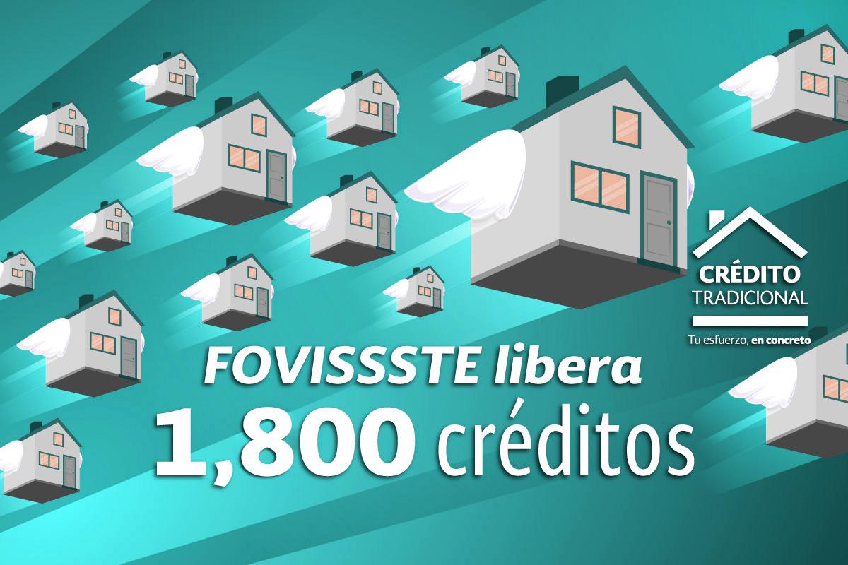 Libera FOVISSSTE otros Mil 800 créditos tradicionales en este 2018