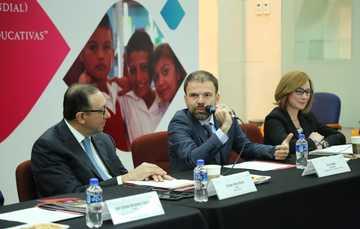 Se reunieron el director general del Consejo, Enrique Torres Rivera y una misión del Banco Mundial encabezada por el gerente del proyecto, Ciro Avitabile.