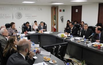 Cuarta Sesión Ordinaria del Consejo Directivo del INAPAM.