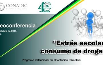 Videoconferencia: Estrés Escolar y Consumo de Drogas