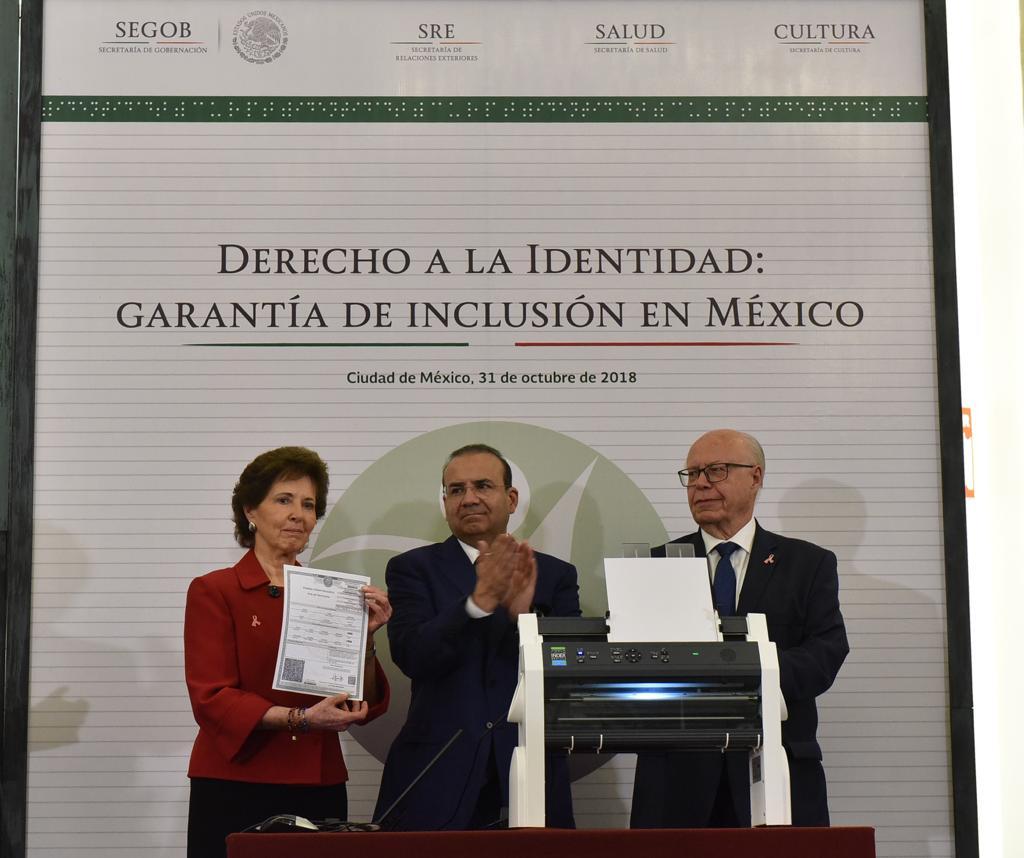 """se llevó a cabo el evento denominado """"Derecho a la Identidad: garantía de inclusión en México"""""""