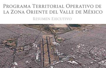 """El Programa contempla acciones de aprovechamiento del terreno en el actual aeropuerto internacional de la Ciudad de México """"Benito Juárez"""", que lo convertiría en la puerta vial con el nuevo aeropuerto"""