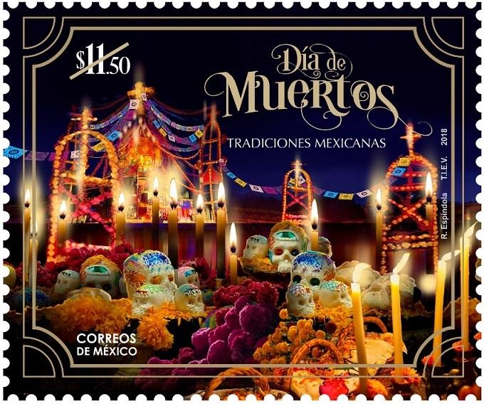 Las almas llegan a Correos de México