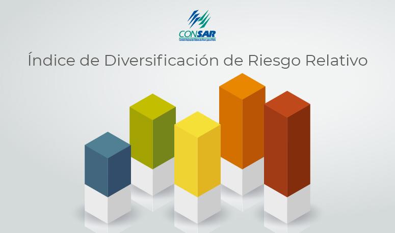 Índice de Diversificación de Riesgo Relativo.