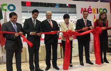 Inauguración del pabellón nacional en CIIE 2018