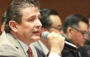 Enrique Armando González Muñoz, Presidente de la Cámara Nacional del Autotransporte de Carga (CANACAR).