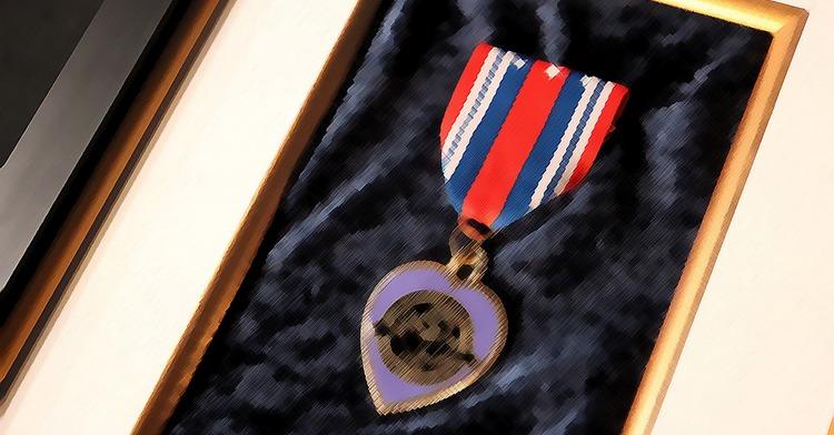 """condecoración """"Corazón Púrpura"""""""