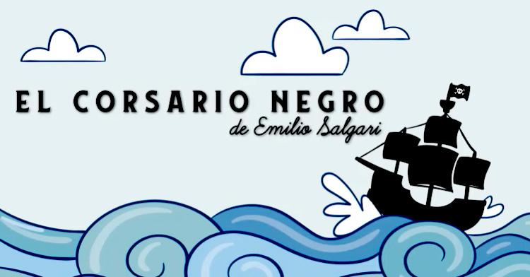 Banner de El Corsario Negro de Emilio Salgari