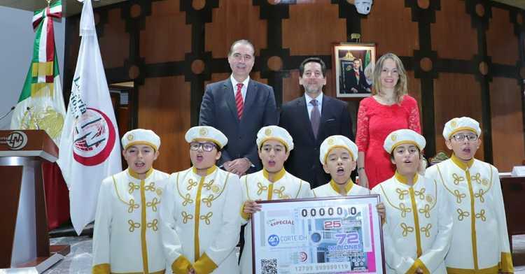 La Lotería Nacional para la Asistencia Pública (LOTENAL) dedicó su Sorteo Especial No. 212 al 40° Aniversario de la Corte Interamericana de Derechos Humanos