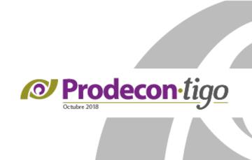 Boletín Prodecon-tigo Octubre 2018